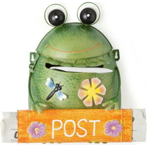 Zelená poštovní schránka Brandani Frog