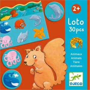 Dětská hra loto Djeco Animals