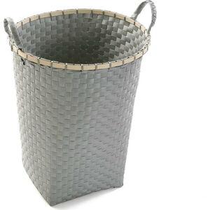 Šedý koš na prádlo Versa Laundry Basket