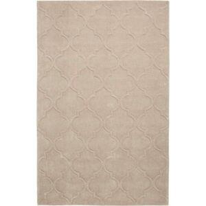 Šedozelený ručně tuftovaný koberec Think Rugs Hong Kong Puro Beige, 150 x 230 cm