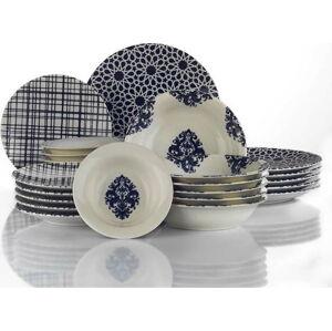 24dílná sada porcelánového nádobí Kütahya Porselen Ora