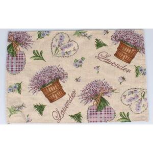 Textilní prostírání Dakls Easter Deco Levander, 48 x 33 cm