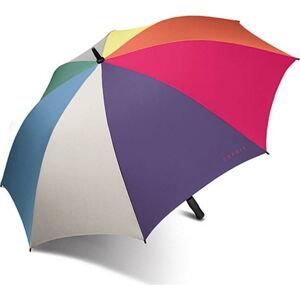 Barevný větruodolný golfový deštník Ambiance Esprit, ⌀135cm