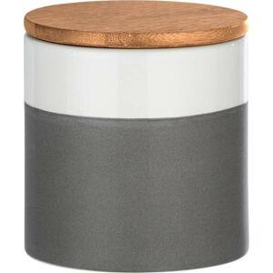 Keramický úložný box s bambusovým víkem Wenko Malta, 450ml