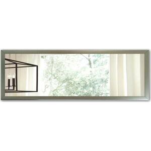 Nástěnné zrcadlo s rámem ve stříbrné barvě Oyo Concept,105x40cm