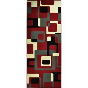 Červený koberec Hanse Home Hamla Retro, 200 x 290 cm