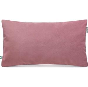 Růžový povlak na polštář se sametovým povrchem Mumla Velvet, 30 x 50 cm