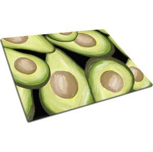 Skleněné prkénko na krájení Insigne Avocado