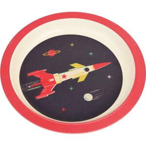 Dětský talíř z bambusu Rex London Space Age