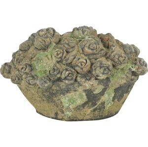 Zahradní terakotová dekorace Esschert Design Flowers