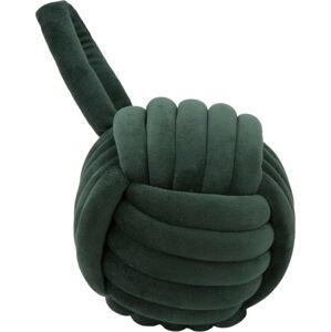 Tmavě zelená zarážka do dvěří Mauro Ferretti Ball, ø14cm