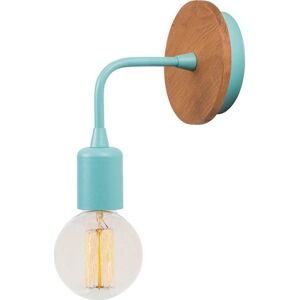 Modré nástěnné svítidlo Homemania Decor Simple Drop