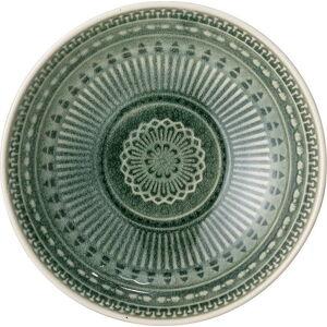 Zelená miska z kameniny Bloomingville Rani,ø18cm