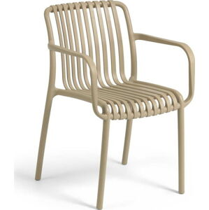 Béžová zahradní židle La Forma Isabellini