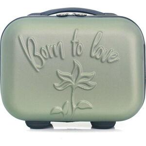 Zelený kosmetický kufřík LPB Julianna, 10,3l