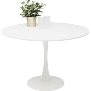 Bílý jídelní stůl Kare Design Schickeria, ⌀ 110 cm