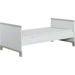 Bílo-šedá dětská postel Pinio Mini, 200x90cm