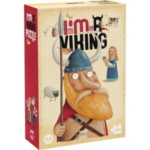 Velké puzzle já jsem Viking Londji