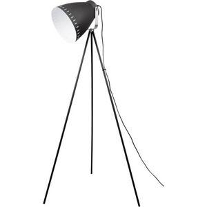 Černá volně stojící lampa Leitmotiv Tristar