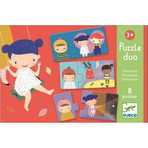 Dětské puzzle Djeco Duo Emoce