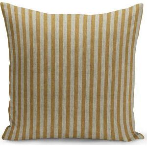 Hnědo-béžový povlak na polštář Kate Louise Stripes,45x45 cm