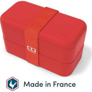 Červený svačinový box Monbento Original