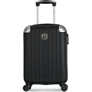 Černé skořepinové zavazadlo na 4 kolečkách LPB Amelie, 31l