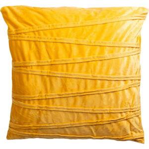 Žlutý dekorativní polštář JAHU collections Ella,45x45cm