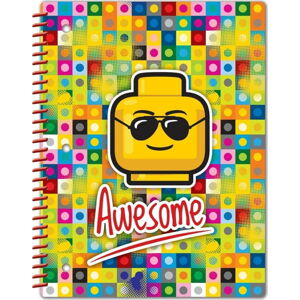 Spirálový sešit LEGO® Iconic Awesome, 96stran