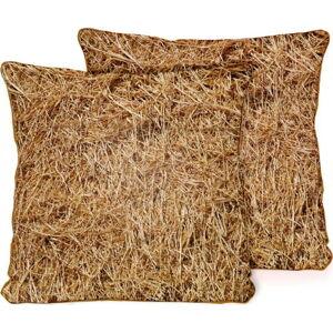 Povlak na polštář z mikrovlákna Surdic Barn, 45 x 45 cm