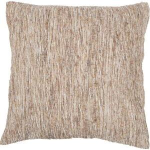 Béžový vzorovaný povlak na polštář Tiseco Home Studio Natural, 45x45cm