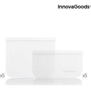 10 kusů znovu použitelných vaků na potraviny InnovaGoods