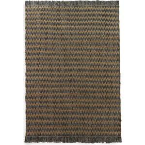 Modro-hnědý koberec Geese Mumbai, 150x 200 cm