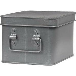Kovový úložný box LABEL51 Media, šířka 22cm