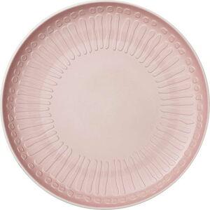 Bílo-růžový porcelánový talíř Villeroy & Boch Blossom, ⌀ 24 cm