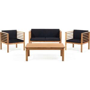 Set zahradního nábytku z akáciového dřeva Monobeli Sumatra