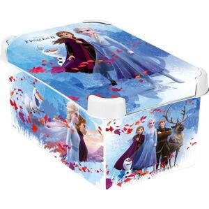Dětský úložný box s víkem CURVER Frozen,6l