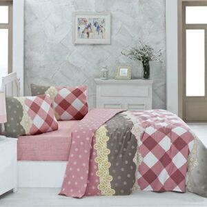 Lehký bavlněný přehoz přes postel na dvoulůžko Ceylin,200x230cm