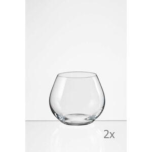 Sada 2 sklenic Crystalex Amoroso,340ml