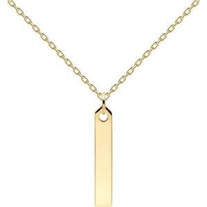Pozlacený náhrdelník PD Paola Flame Gold