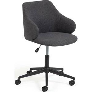 Tmavě šedá kancelářské židle La Forma Einara