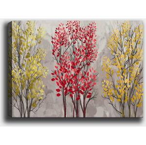 Nástěnný obraz na plátně Tablo Center Fall Red, 50 x 70 cm
