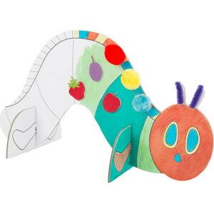 Dětský tvořící set na výrobu kartonové housenky Legler Caterpillar