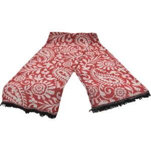 Červený dámský šál s příměsí bavlny Dolce Bonita Otantic Mini, 170 x 90 cm