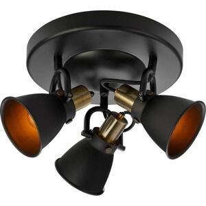 Černé stropní svítidlo Markslöjd Alton Ceiling 3L