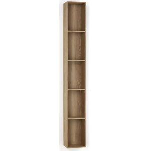 Dřevěná polička s 5 úložnými prostory Tomasucci Billa, 150x15x20cm