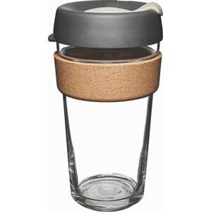 Cestovní hrnek s víčkem KeepCup Brew Cork Edition Press, 454 ml