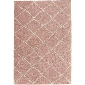 Růžový koberec Mint Rugs Allure Ronno Rose Creme, 120x170cm
