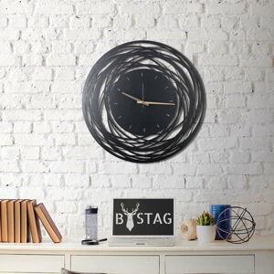 Nástěnné kovové hodiny Ball, ø 70 cm