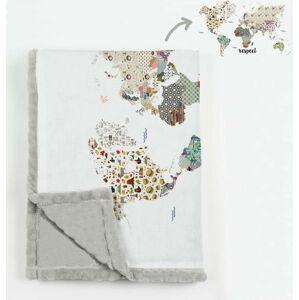 Přikrývka z mikrovlákna Really Nice Things Patchworld, 130 x 170 cm